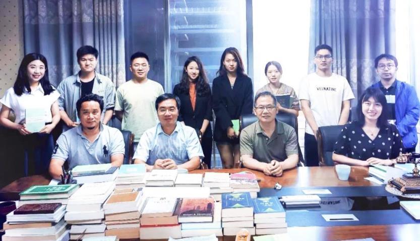 集团党委书记、总裁熊万鹏赴北京大学座谈交流